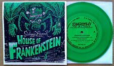 JOHNNY LEGEND - HOUSE OF FRANKENSTEIN - SFTRI LBL - PIC. SLV + GREEN VINYL 45