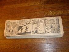 LI'L ABNER DAILY COMIC STRIPS: 313  from 1940, dailies, al capp