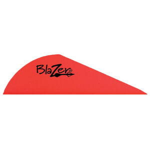 "Bohning Blazer 2"" Vane Archery Arrow Shaft Fletching .6 "" High 6-Grain -100/pack"