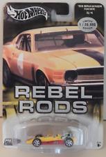 Hot Wheels '69 Brawner Hawk Metal Collection Rebel Rods Race Car Real Riders