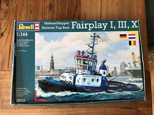 Revell Fairplay Hafenschlepper RC vorbereitet