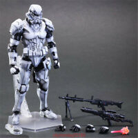 """Play Arts Kai Square Enix Star Wars Storm Trooper VARIANT 10"""" Collection New"""