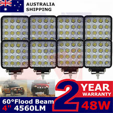 8X48Watt LED Work Light Truck Tractor Farming Equipment 12Volt Marine Flood Lamp