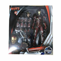 Marvel Avengers Mafex NO 022 Iron Man Mark 45 PVC Model Figure Medicom KO Toys