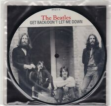 "Beatles ""Get Back"" & ""Don't Let Me Down"" 7"" Picture Disc  RP 5777  Still Sealed"