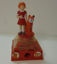 Vintage Annie Sandy Dog Gumball Bank  Arrow 1981 for Parts