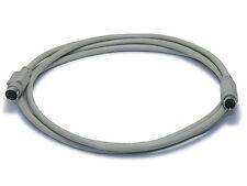6ft Mini DIN 8-Pin M/F Male to Female Beige MD8 MiniDIN 8 MDIN8 Cable
