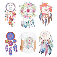 3D Dream Catcher Indian Sew Badge Tattoo Iron-on Transfer Clothes Patch Stickers