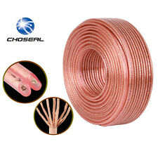Premium Speaker Cable 32FT 2x200C OFC Wires for Car Home Theatre Audiophile