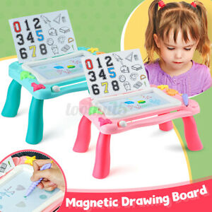 Portable Magnetic Drawing Board For Kids Children Writing Doodle Painting