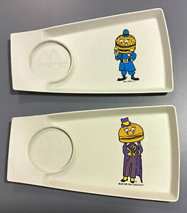 Vintage McDonalds Children/'s Plate Plastic Big Mac