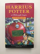 LATIN Harry Potter and the Philosopher's Stone Hardback J K Rowling Rare