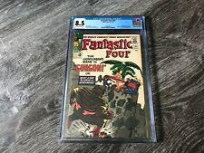 Fantastic Four #44 CGC 8.5 VF+ Marvel 1st Gorgon Inhumans Saga Begins