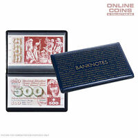 Lighthouse Collectors Pocket Album for Larger Banknotes - Wallet with 20 Sleeves