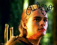 LEGOLAS ORLANDO BLOOM LORD OF THE RINGS SIGNED AUTOGRAPHED 10X8 REPRO PRINT