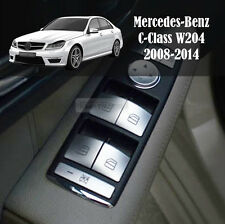 Interior 3D ABS Window Switch Key Cover for Mercedes Benz 2008-2014 C-Class W204