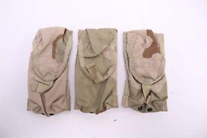 THREE Safariland SPEAR Single (1x1) Rifle Magazine Pouches MOLLE DCU