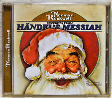 Norman Rockwell Excerpts from Handel's Messiah Christmas Art CD NM Classical