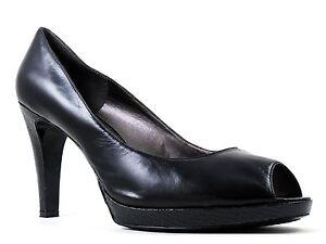 Bandolino Women's Harte Classic Pumps Black Leather Size 11 M