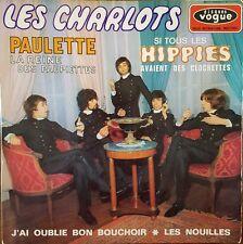 """Les Charlots - Paulette La Reine des Paupiettes -  Vinyl 7"""" 45T (Single)"""