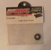 Duratrax DTXG0403 Carb Boot Dust Cover for DTX-18 NIP