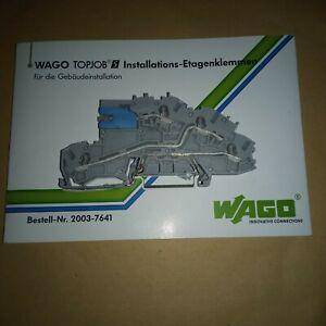 """WAGO TOPJOB S Installations-Etagenklemme NT/L/PE 2003-7641 (0,25 - 4 mm²)  """"NEU"""""""