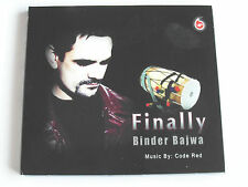 Finally - Binder Bajwa - Bhangra (CD Album) Used Very Good