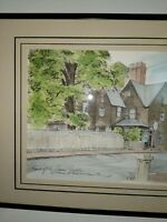 House Of Seven Gables Charles H. Overly SignedFramed print. Salem Massachusetts