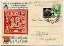 Briefmarken-Ganzsachen für Sammler aus dem deutschen Reich