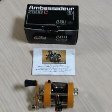 Abu Garcia Ambassadeur 2500C Miniature Model Orange 100th Anniversary Limited
