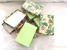 Beautiful  Empty  cardboard  Jewelry  Boxes  New Price   !