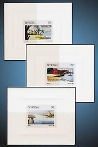 1991 SENEGAL CANOE EXCURSION BOUFFLER HOTEL HUTS BILD STILTS SCOTT 939,940,941