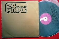 DEEP PURPLE 24 CARAT PURPLE RARE EXYUGOSLAV PRESSING LP