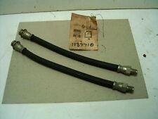 Mopar NOS Front Brake Hoses 46-48 Plymouth, Dodge, DeSoto, Chrysler