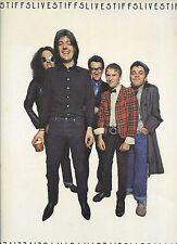 IAN DURY elvis costello NICK LOWE wreckless eric  LIVE STIFFS DUTCH 1978 NM LP