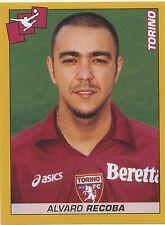 N°452 ALVARO RECOBA # URUGUAY TORINO.FC STICKER FIGURINA PANINI CALCIATORI 2008