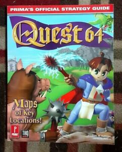 Quest 64 Prima's Official Strategy Game Guide