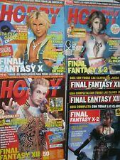 HOBBY CONSOLAS 128,140,153 (Final Fantasy X, X-2, XII) CON 6 POSTERS y 3 GUIAS !