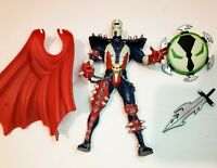 """RARE 1994 Navy Blue & Red Spawn 6"""" Todd McFarlane TMP Toys Action Figure Spawn"""