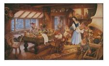Huge Counted Cross Stitch kit Snow White and the Seven Dwarfs Craft Kit CR1284