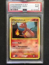 PSA 9 Mint - CHARMELEON HOLO SECRET RARE - Pokemon TCG: Stormfront #102/100