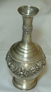 Vase Silver 88 Imperial Russia Height 11''