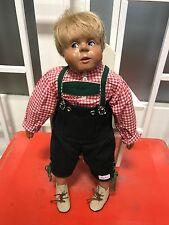 Sigikid Kristin Schramm Puppe 45 cm ! Top Zustand