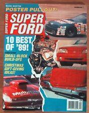SUPER FORD 1989 DEC - '69 COBRA 428SCJ, TORINO 428CJ