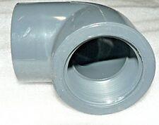 "PVC Elbow, 90 °, FNPT x Socket, 1-1 / 2 "" SCH-80 S017-015 D-2467"