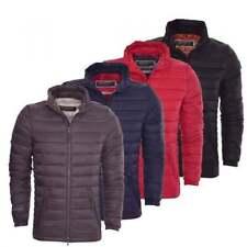 Crosshatch Nylon Regular Size Coats & Jackets for Men