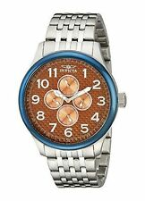 Invicta Quartz (Battery) Silver Case Casual Wristwatches