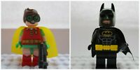 DC Batman & Robin Action Toy Super Heroes Mini Figures Use With lego