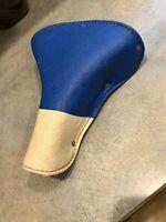 1950s Schwinn Persons Majestic NOS Blue seat deluxe crash rail