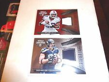 2014 TOTALLY CERTIFIED ZACH MILLER CERTIFIED FABRICS JERSEY  - 1 CARD ONLY